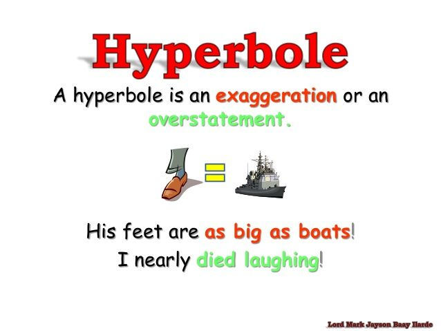 30 Best Personification And Hyperbole Images On Pinterest