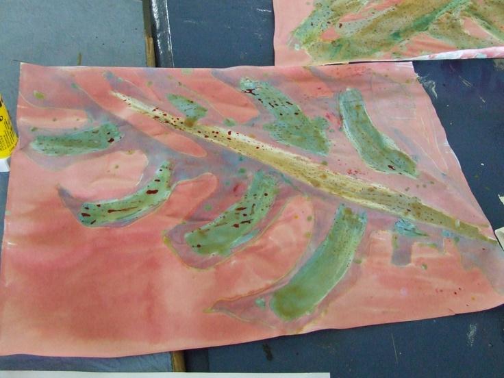 batik on paper