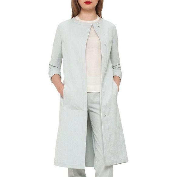 Stretch Cotton Seersucker Jacket