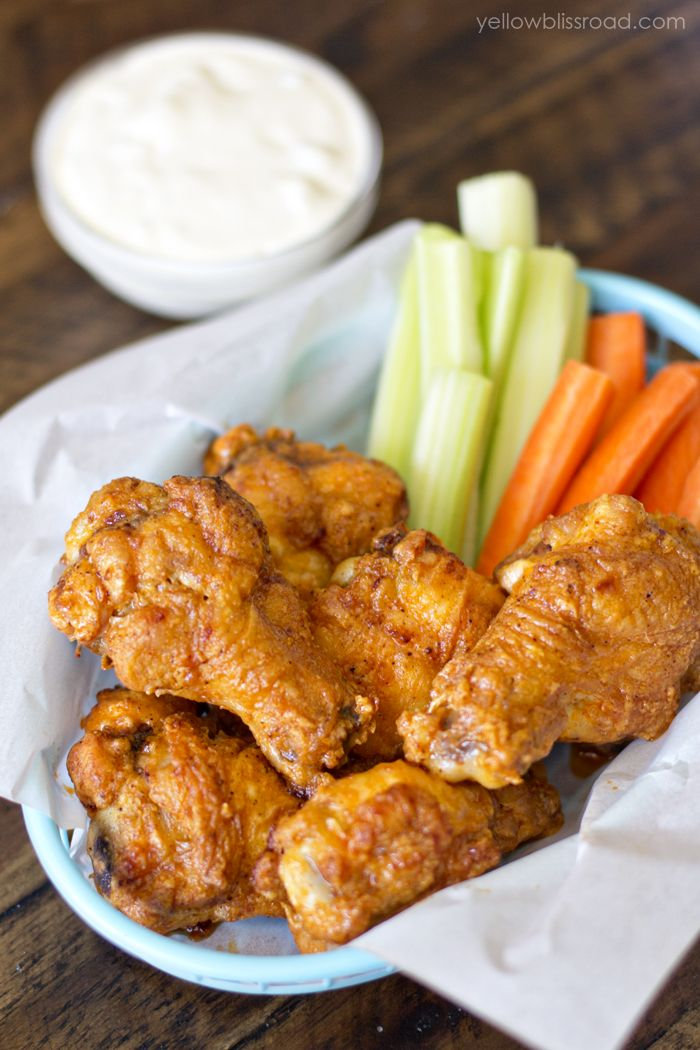 Baked Crispy Chicken Wings