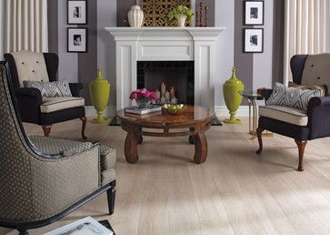 Quick Step Reclaimé™   White Wash Oak   UF1667   Traditional   Living Room