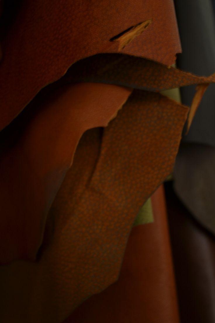 Leather , exclusive design for Ricardo Gaoli