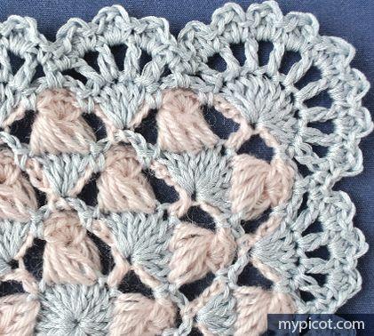 MyPicot | Free crochet patterns - square