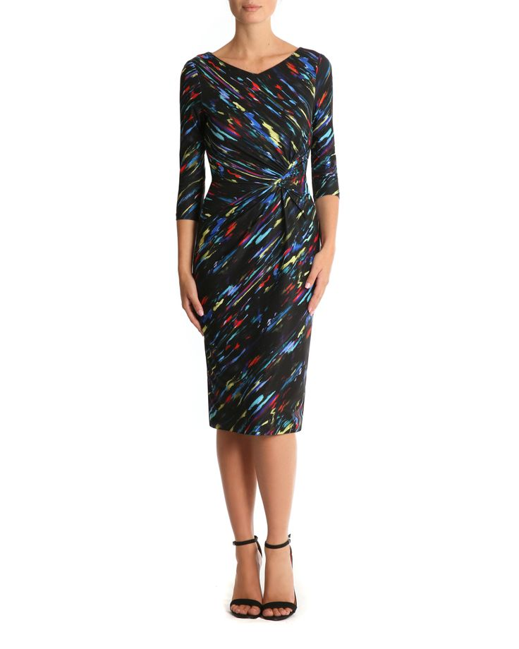 Paint Brush Jersey Dress 2016