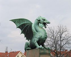 The Wawel dragon is the most famous dragon in Poland. It is rooted in Krakow`s tradition and culture and is well known to every Polish child, see the photographs from the children play about the dragon in the article  The dragon is present in the streets, schools, offices, radio and TV stations, literature and theatre, advertisements and commercials.