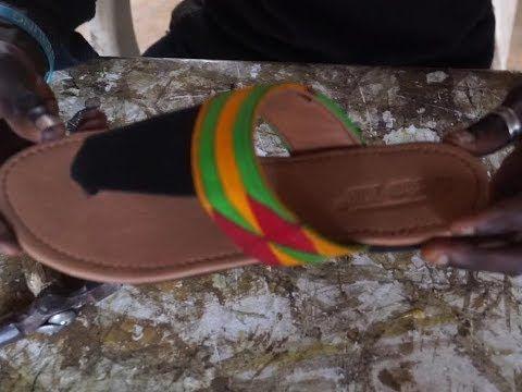 Summer slippers making African print (ankara) – Yo…