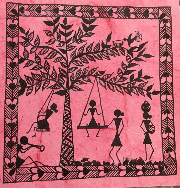 656 best warli images on Pinterest | Folk art, Popular art ...