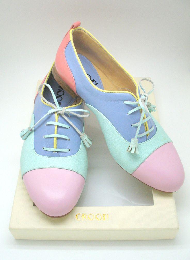Fun pastel shoes!