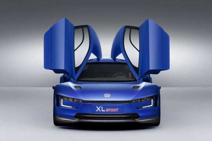 Volkswagen XL Sport Concept Exterior Front View Wallpaper