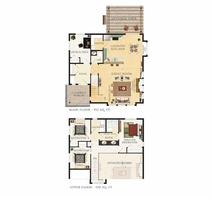 Beaver homes and cottages bolero i love house plans for Floor plans 8 esplanade