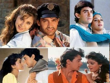 Actresses with Aamir Khan!