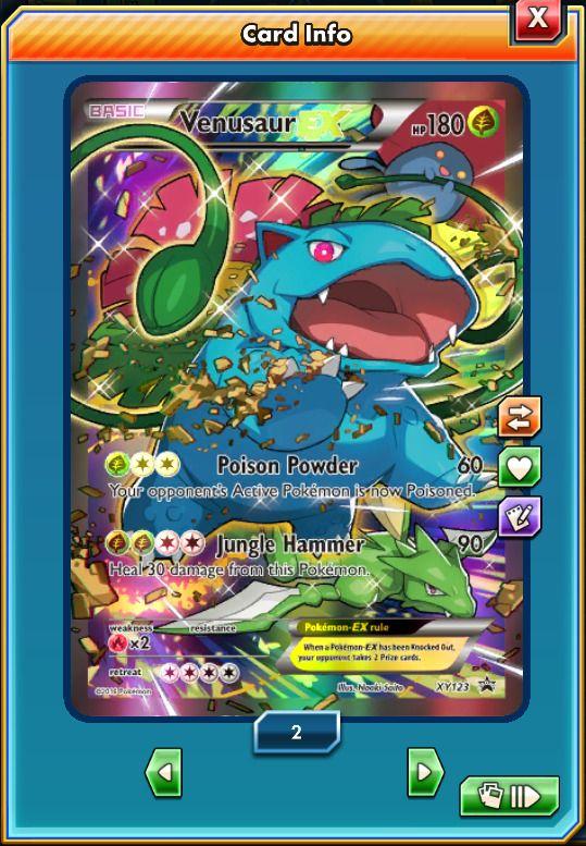Promo FA Venusaur-EX XY123 - Pokemon Trading Card Game Online Digital card | eBay #ptcgo #pokemontcgo #pokemon #pokemoncards #pokemon20 #pokemontcg #pokemonx #pokemony #pokemoncommunity #pokemonxy #pokemonart #pkmncard #pokemontrainer #pokemonmaster #pokemoncollector #pokemonred #pokemonmoon #pokemonsunandmoon #pokemoncenter #pkmn #venusaur #pokesphere #rare #ultrarare #blastoise #charizard #pokemonxandy #pokemonbattle