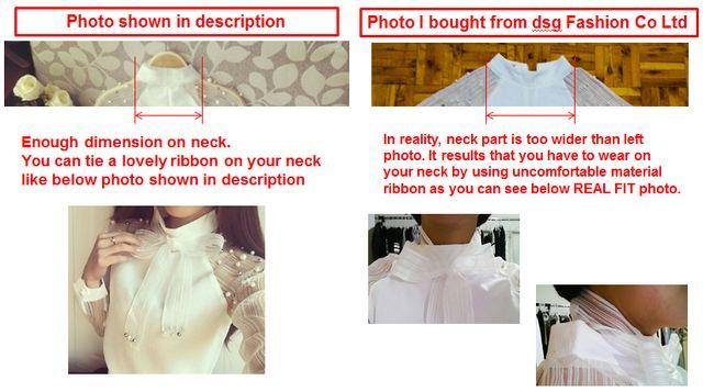 Tienda Online 2015 Nueva primavera elegante organza arco de La Perla Blanco blusa de la gasa ocasional de la camisa blusas de las mujeres tops blusas femininas 607I 25 | Aliexpress móvil