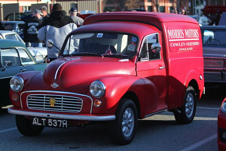 2014 Cars and Coffee Greensboro March Beautiful old delivery van