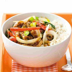Recept - Rijst met ketjapgroenten - Allerhande