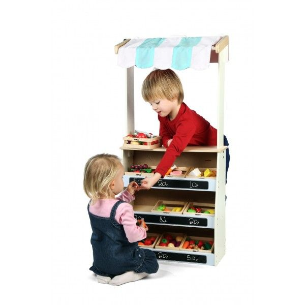 This is a fabulous 2 in 1 wooden Play Shop and Theatre by Tidlo Toys. They have created a brilliant design which provides great play value and is of the usual high standard we would always expect from this fabulous wooden toy manufacturer.