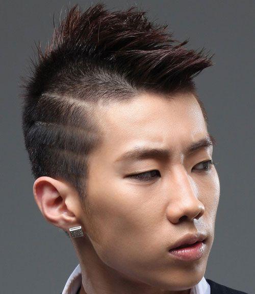 Asian Undercut Men