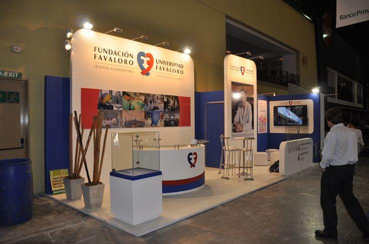 Stand Fundación Favaloro y Universidad Favaloro en Feria Internacional del Libro 2014 - Buenos Aires - Argentina