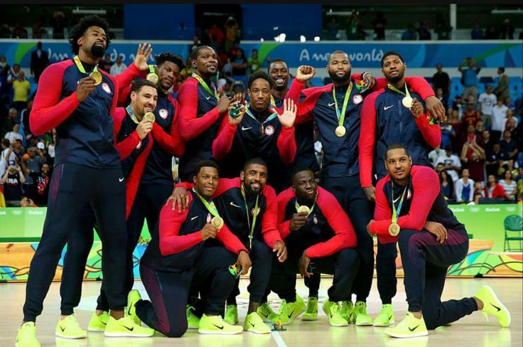 2016 Rio Olympic Men's Gold Medal Basketball Team