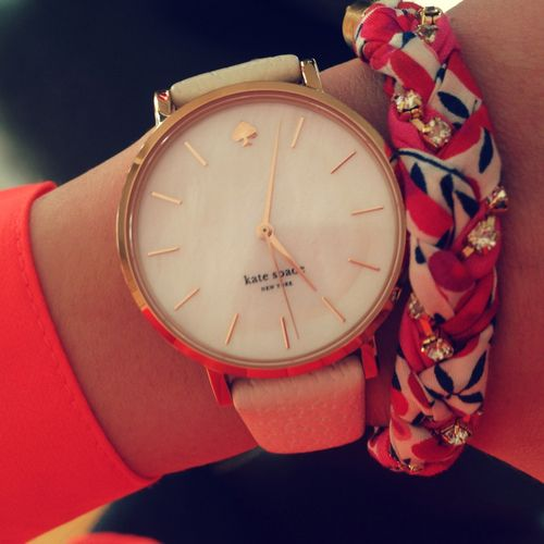 Kate Spade Women's watch - classy and chic. #KateSpade mom I want this for Christmas! Well one like it please thanks @Rhonda Alp Lynn Rowe