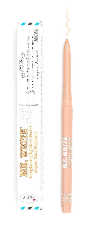 theBalm Cosmetics Mr. Write® Long Lasting Eyeliner Pencil (Seymour Datenights)  #theBalm #liners #eyeliner