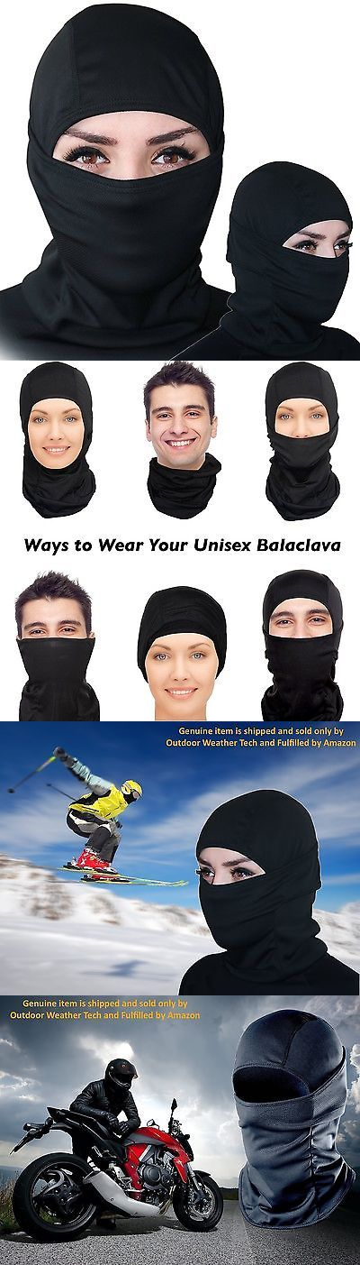 Hats and Headwear 62175: Balaclava Ski Mask Premium Face Motorcycle Neck Warmer Or Tactical Bal New -> BUY IT NOW ONLY: $38.08 on eBay!