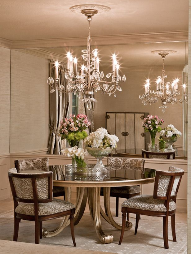 Old World | Dining Rooms | Linda Applewhite : Designer Portfolio : HGTV - Home & Garden Television