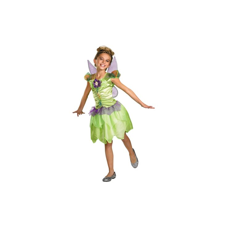 Halloween Girls' Tinker Bell Rainbow Costume 3t-4t, Size: 3T/4T, Multi-Colored