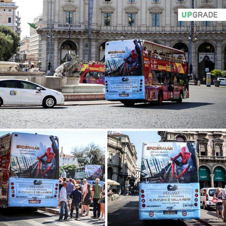 Brand: Pegaso - Università Telematica ADV: Milano - Roma #pegaso #universitàtelematica #milano #roma #italia #università #adv #advertising #pubblicitá #pubblicitàinmovimento #bus www.upgrademedia.it