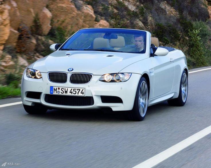 BMW M3 in voller Fahrt