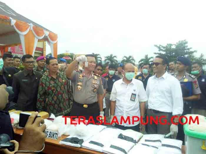 Kapolda Lampung Janji Beri Hadiah kepada Warga yang Tangkap Oknum Polisi Terlibat Narkoba