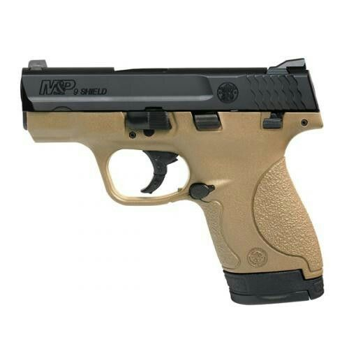 M&P Shield 9mm Flat Dark Earth. Ordering this week! Too excited!