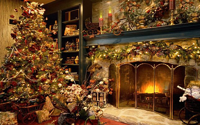 Xmass Fireplace Screensaver for Windows - Screensavers Planet