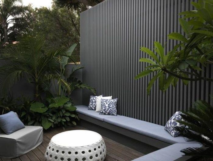 die besten 25 sichtschutz modern ideen auf pinterest. Black Bedroom Furniture Sets. Home Design Ideas