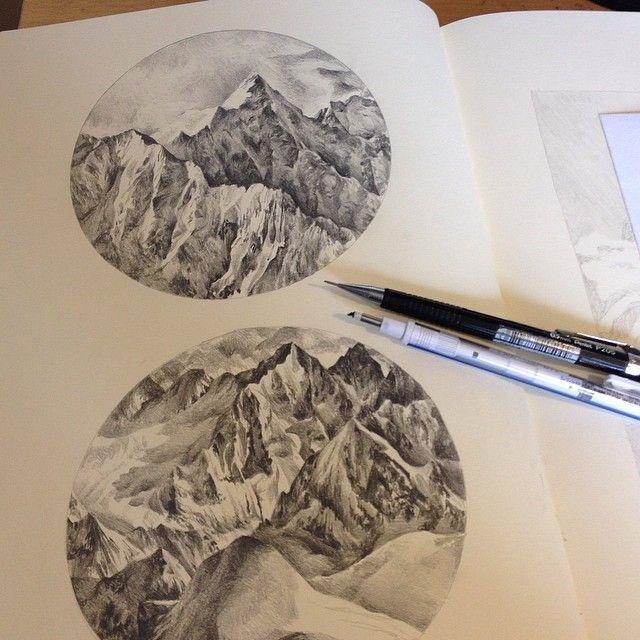 Kate Powell's sketchbook