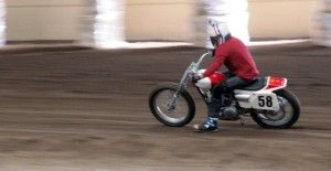 Triumph's Return to the Flat Track of Del Mar