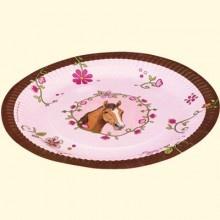 """Die Spiegelburg """"Horse Friends"""" plates"""