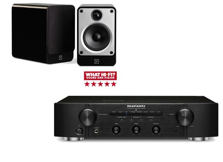 Marantz PM6005 & Q Acoustics CONCEPT 20 | Hi-Fi Separates System | Richer Sounds