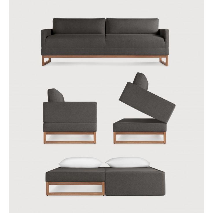 Blue Dot Convertible Sofa Sleeper - Diplomat