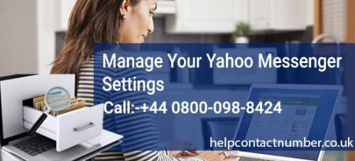 Yahoo added an approach to alter your messenger settings directly through your Yahoo Mail. This makes it much less demanding to have total control over your email address and yahoo messenger, all in one program. We have explain all the step in this article, for more yahoo technical help you can connect our contact yahoo customer care number but we have explain all steps on this article. To know more about our yahoo contact number visit: http://www.helpcontactnumber.co.uk/
