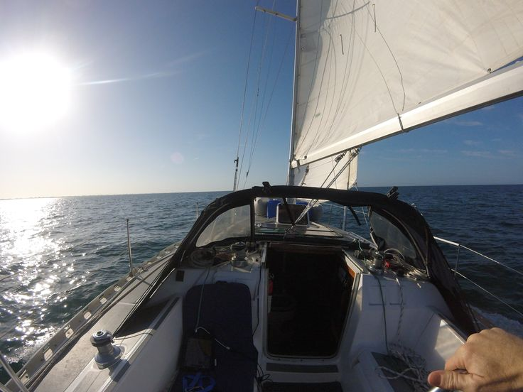 Follow WritersWeekly.com's Editor, Brian Whiddon, as he sails the high seas