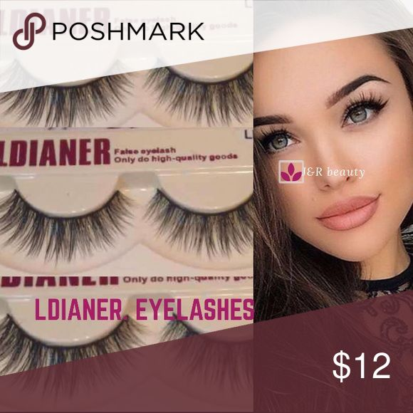 Ldianer eyelashes All brand new 3 pairs  # tags Iconic, mink, red cherry eyelashes, house of lashes, doll, kawaii, case, full, natural,  Koko, Ardell, wispies, Demi , makeup, kiss mascara, ldianer Makeup False Eyelashes