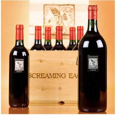 Most Expensive Wine : $500,000 (for charity) – Screaming Eagle Cabernet 1992.