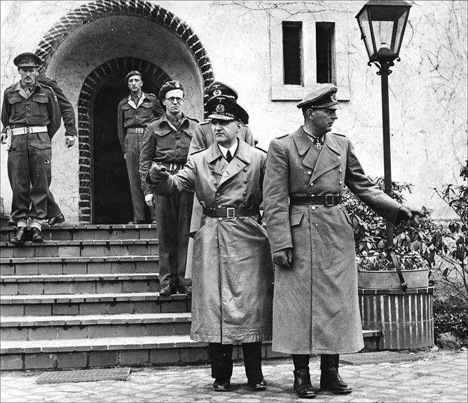 This day in 1945,the successor of Adolf Hitler,Reichspräsident Karl Dönitz,has been arrested.