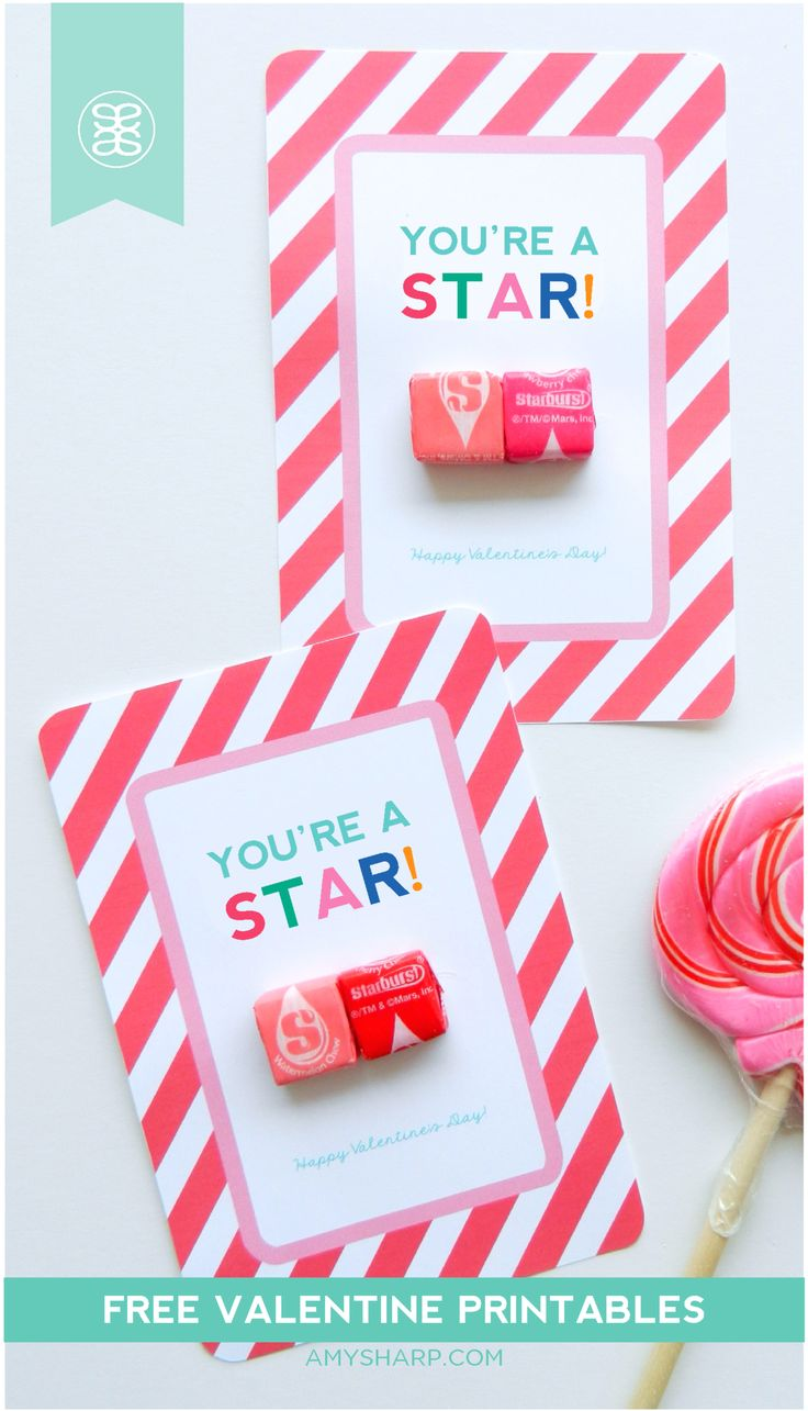 The Latest Valentine S Cards For Kids Printable