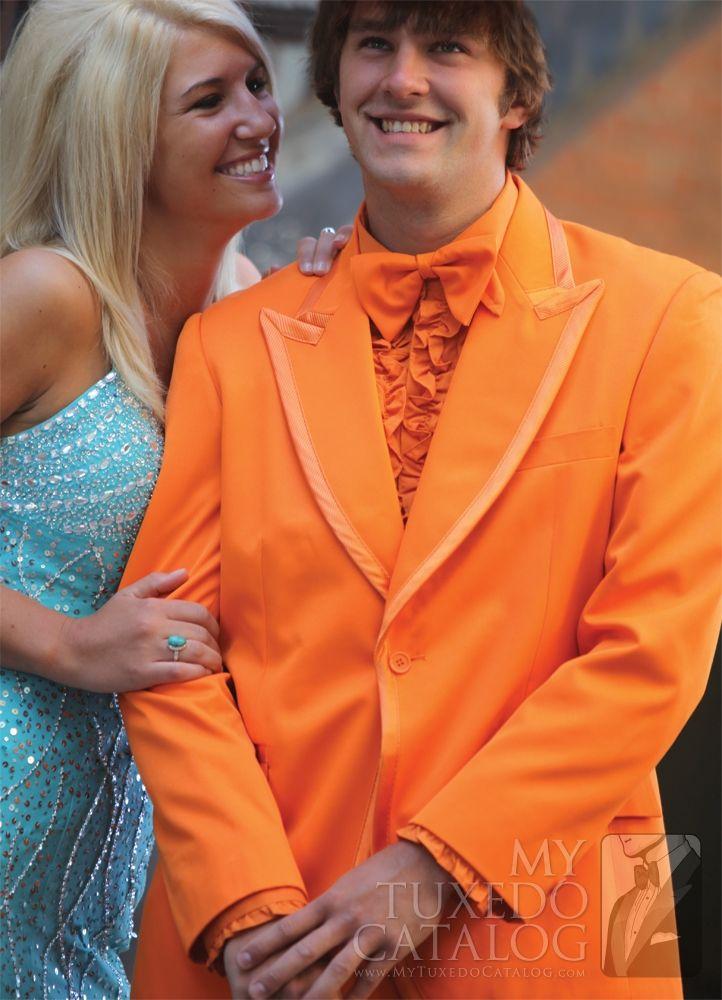 Orange Tuxedo from http://www.mytuxedocatalog.com/catalog/rental-tuxedos-and-suits/C960-Orange-Tuxedo/