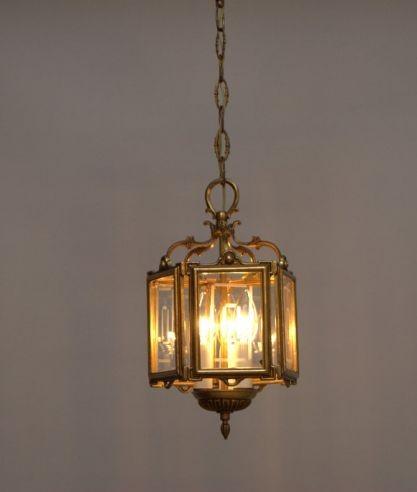 Kroonluchter Galerie » Franse lantaarn met 3 lichtpunten