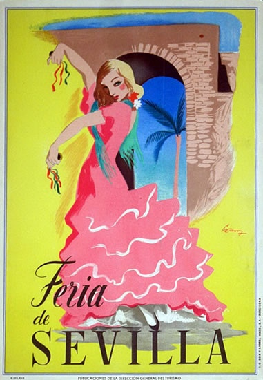 1948 Seville Fair, Seville, Spain.  http://www.costatropicalevents.com/en/costa-tropical-events/andalusia/cities/seville.html