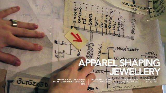 Apparel Shaping Jewellery - Designed by Ákos Lipóczki (http://www.lipidesign.com)  DLA Project: Jewellery Then And Now  Moholy-Nagy University of Art and Design Budapest  2012  ---  video: Anna Ildikó Pető (www.petoanna.com)  music: SCSI 9 - The End