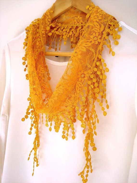 Stylish lace scarf which is going to be one of your favorites. lts usable as a scarf, headband, belt etc. Care:  Gentle cold hand wash